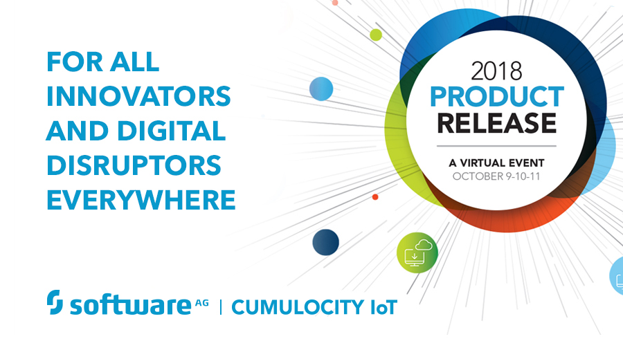 Software AG's Cumulocity IoT is Pivotal in 2018 Product Release Virtual Event