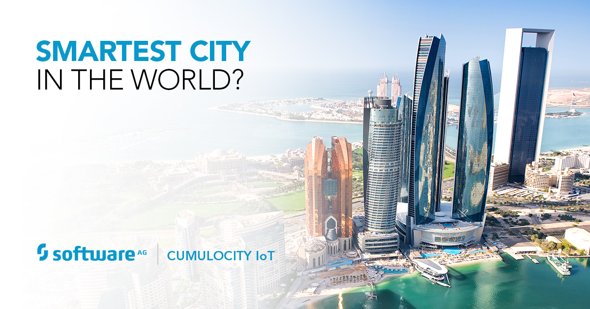 Abu Dhabi Completes Successful Smart City Project Using Software AG's Cumulocity IoT