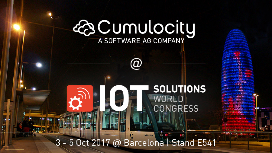 Cumulocity @ IoT Solutions World Congress, Barcelona