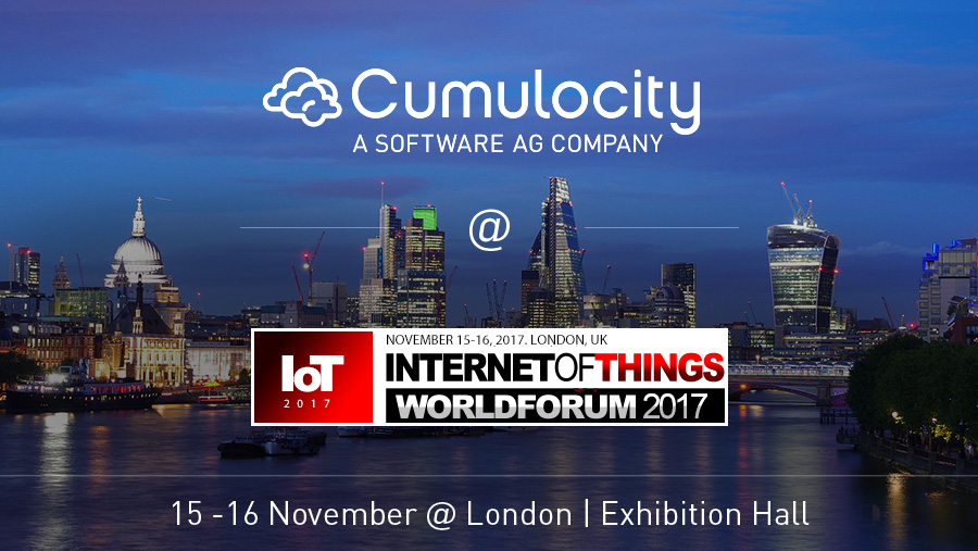 Cumulocity @ IoT World Forum, London
