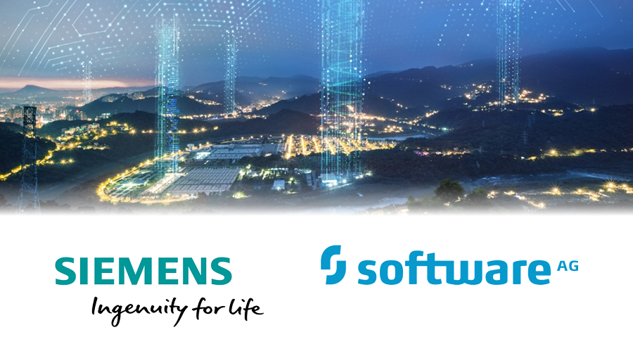 Siemens AG and Software AG announced a partnership.