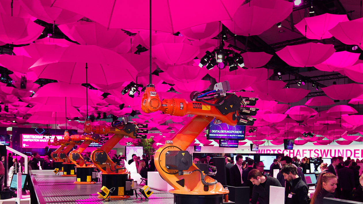 Telekom 'Cloud of Things' at CeBIT