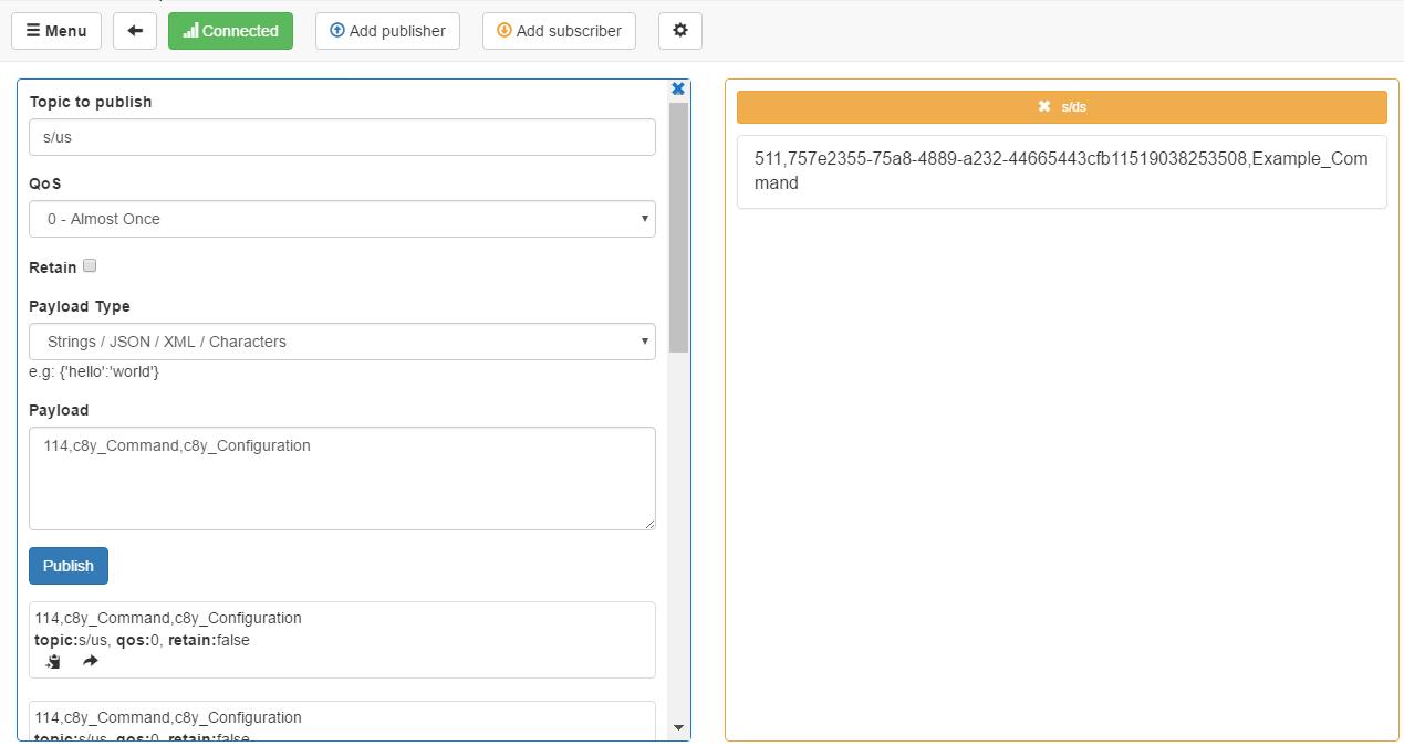 MQTT client examples - Cumulocity IoT Guides